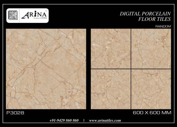 P3028- 24x24 Porcelain Floor Tiles