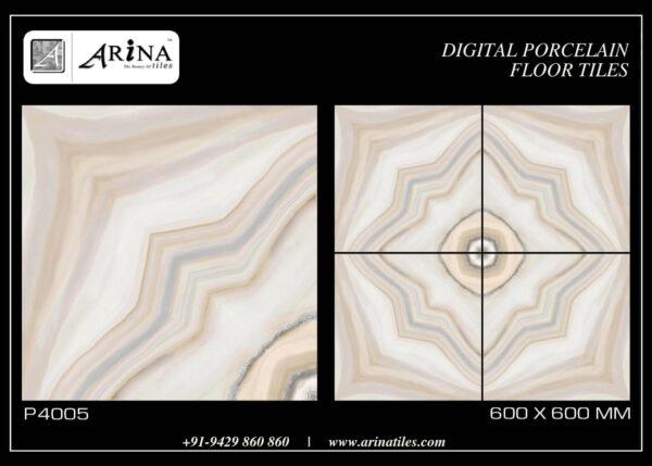 P4005- 24x24 Porcelain Floor Tiles