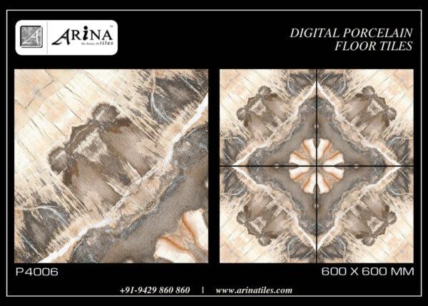 P4006- 24x24 Porcelain Floor Tiles