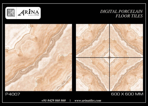 P4007- 24x24 Porcelain Floor Tiles