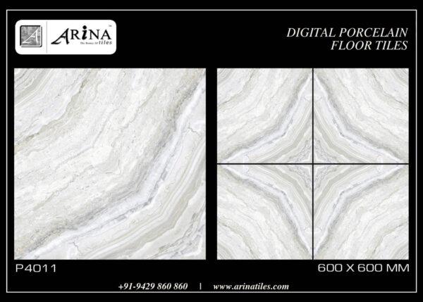 P4011- 24x24 Porcelain Floor Tiles