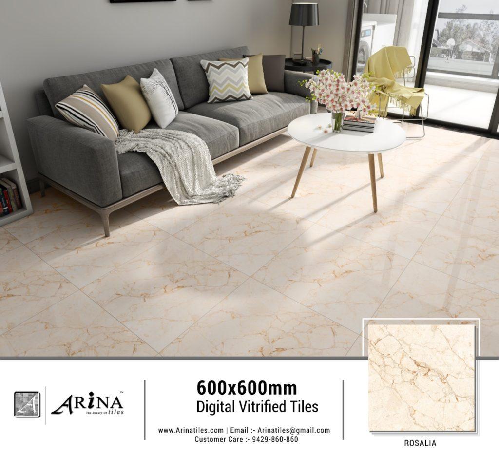 Rosalia Preview 24x24 Digital Vitrified Tiles
