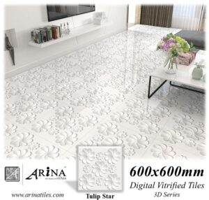 Tulip Star - 24x24 Digital Vitrified Tiles