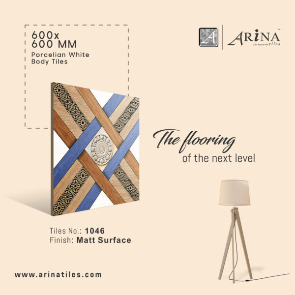 P1046 - 24x24 Porcelain Floor Tiles
