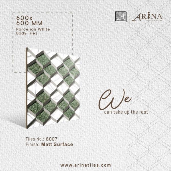 P8007- 24x24 Porcelain Floor Tiles